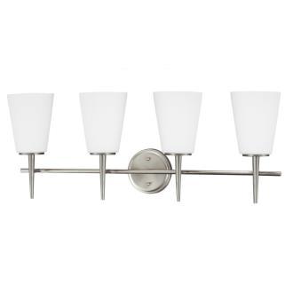 Sea Gull Lighting 4440404BLE-962 Driscoll - Four Light Wall/Bath Bar