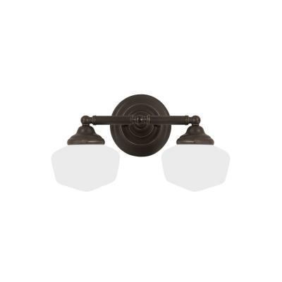Sea Gull Lighting 44437-782 Academy - Two Light Wall/Bath Bar