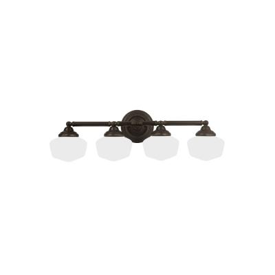 Sea Gull Lighting 44439-782 Academy - Four Light Wall/Bath