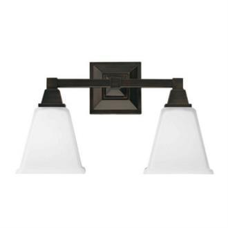 Sea Gull Lighting 4450402-710 Denhelm - Two Light Wall/Bath Bar