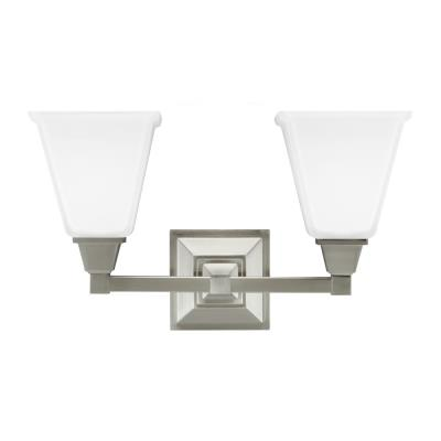 Sea Gull Lighting 4450402BLE-962 Denhelm - Two Light Wall/Bath Bar