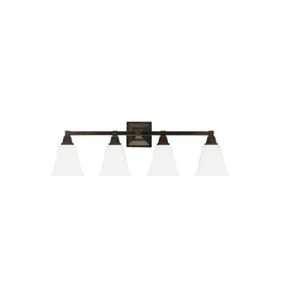Sea Gull Lighting 4450404-710 Denhelm - Four Light Wall/Bath Bar