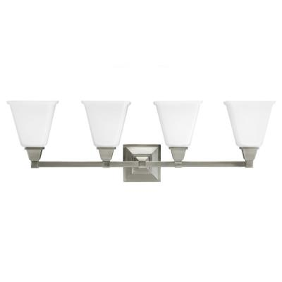Sea Gull Lighting 4450404BLE-962 Denhelm - Four Light Wall/Bath Bar