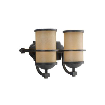 Sea Gull Lighting 44521-845 Two Light  Wall/bath Fixture