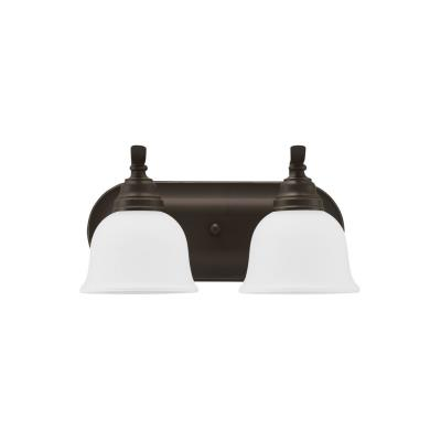 Sea Gull Lighting 44626-782 Wheaton - Two Light Bath Bar