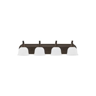 Sea Gull Lighting 44628BLE-782 Wheaton - Four Light Bath Bar