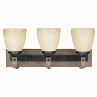 Sea Gull Lighting 4480403-846 Corbeille - Three Light Wall/Bath Bar