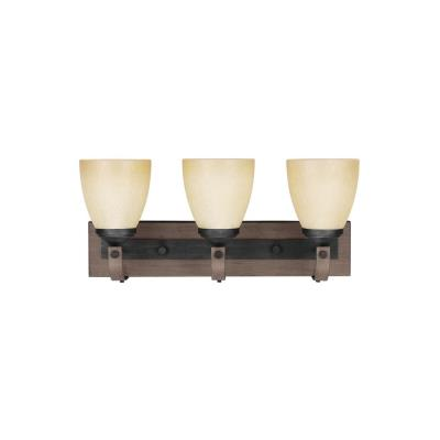 Sea Gull Lighting 4480403-846 Corbeille - Three Light Wall/Bath Bar