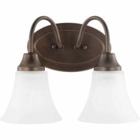 Sea Gull Lighting 44806-827 Holman - Two Light Bath Bar