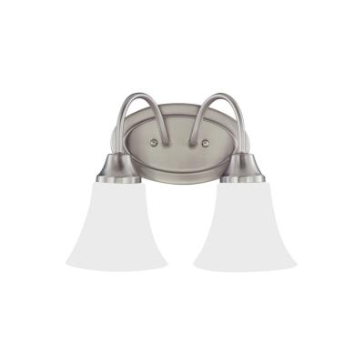 Sea Gull Lighting 44806-962 Holman - Two Light Bath Bar