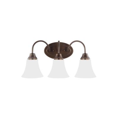 Sea Gull Lighting 44807-827 Holman - Three Light Bath Bar