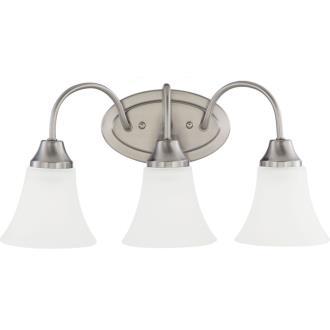 Sea Gull Lighting 44807-962 Holman - Three Light Bath Bar
