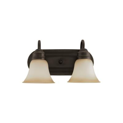 Sea Gull Lighting 44851-782 Two-Light Gladstone Wall/Bath