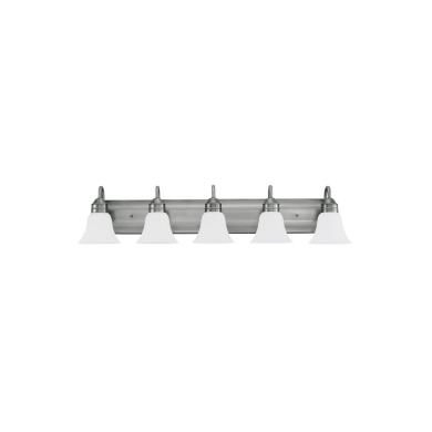 Sea Gull Lighting 44854-965 Gladstone - Five Light Bath Bar