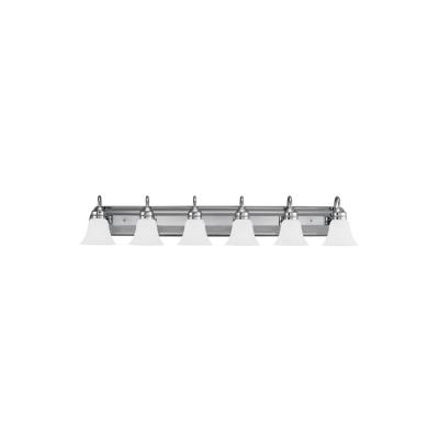 Sea Gull Lighting 44855-05 Gladstone - Six Light Bath Bar