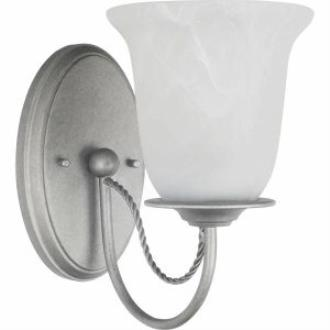 Sea Gull Lighting 44891BLE-57 Plymouth - One Light Wall/Bath Vanity