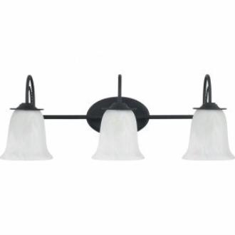 Sea Gull Lighting 44893-839 Plymouth - Three Light Bath Bar