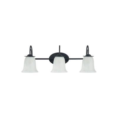 Sea Gull Lighting 44893-839 Plymouth - Three Light Bath Bar