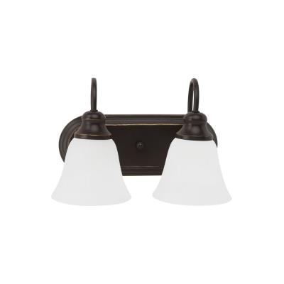 Sea Gull Lighting 44940-782 Windgate - Two Light Bath Bar