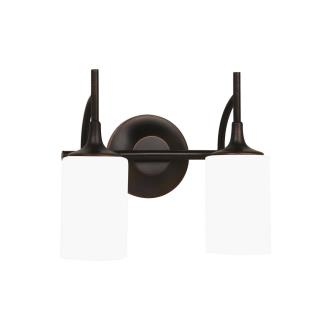 Sea Gull Lighting 44953-710 Stirling - Two Light Wall / Bath