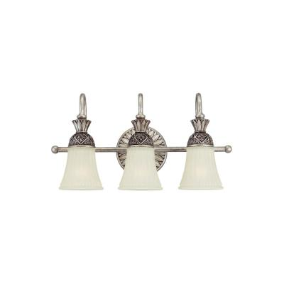 Sea Gull Lighting 47252-824 Three Light Highlands Wall Bath Fixture