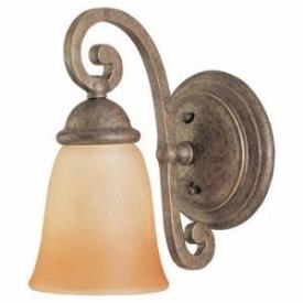 Sea Gull Lighting 49031BLE-71 Single-light Brandywine Wall/bath