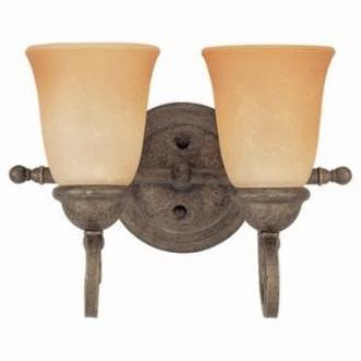 Sea Gull Lighting 49032BLE-71 Two-light Brandywine Wall/bath