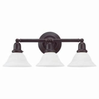 Sea Gull Lighting 49066BLE-782 Three-Light Sussex Fluorescent Wall/Bath