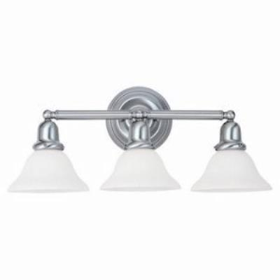 Sea Gull Lighting 49066BLE-962 Three-Light Sussex Fluorescent Wall/Bath