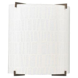 Sea Gull Lighting 49101L-632 Art Paper - One Light Wall Mount