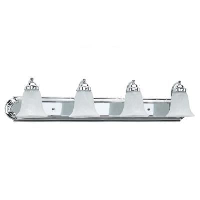 Sea Gull Lighting 49292BLE-05 Four-Light Fluorescent Wall/Bath