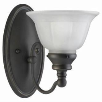 Sea Gull Lighting 49650BLE-71 Single Light Fluorescent Wall Fixture