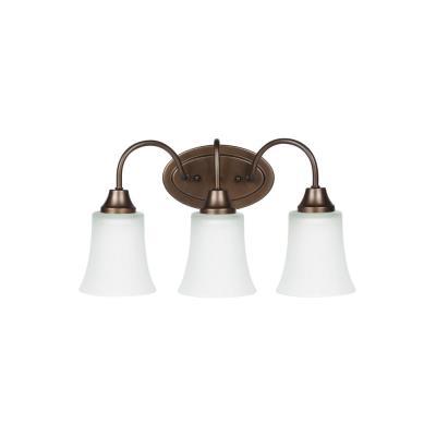 Sea Gull Lighting 49808BLE-827 Holman - Three Light Bath Bar