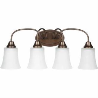 Sea Gull Lighting 49809BLE-827 Holman - Four Light Bath Bar