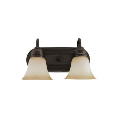Sea Gull Lighting 49851BLE-782 Two-Light Fluorescent Wall/Bath