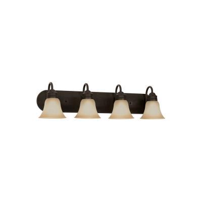 Sea Gull Lighting 49853BLE-782 Four-Light Fluorescent Wall/Bath