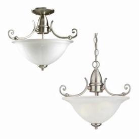 Sea Gull Lighting 51050-962 Two-light Canterbury Semi-flush Mount