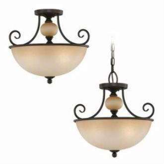 Sea Gull Lighting 51105-72 Three-Light Montclaire Ceiling Light