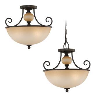 Sea Gull Lighting 51105-72 Three-Light Montclaire Ceiling Light