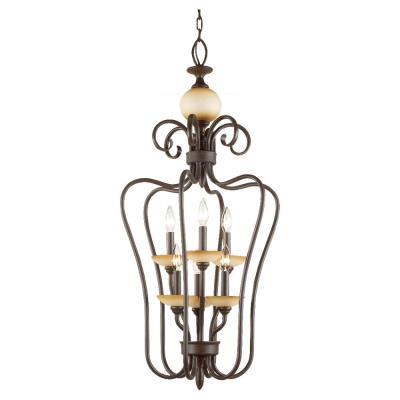 Sea Gull Lighting 51106-72 Six-Light Monteclaire Foyer Light