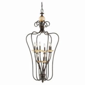 Sea Gull Lighting 51107-72 Nine-Light Montclaire Foyer Light
