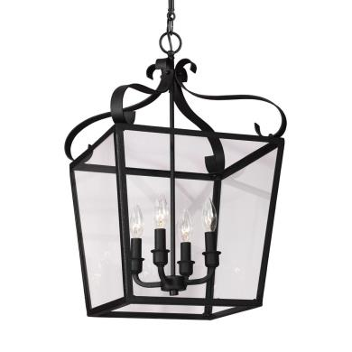 Sea Gull Lighting 5119404-839 Lockheart - Four Light Foyer
