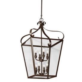 Sea Gull Lighting 5119408-782 Lockheart - Eight Light Foyer