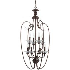 Sea Gull Lighting 51317-710 Lemont - Eight Light Hall Foyer