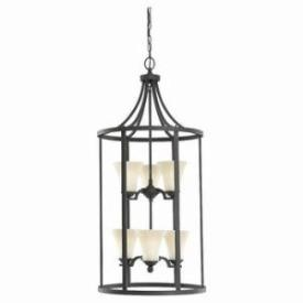Sea Gull Lighting 51376-839 Six Light Hall/Foyer