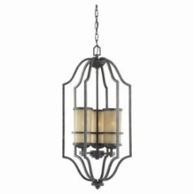 Sea Gull Lighting 51521-845 Three Light Roslyn Pendant