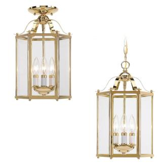Sea Gull Lighting 5231-02 Three-light Hall Foyer With Flush Option