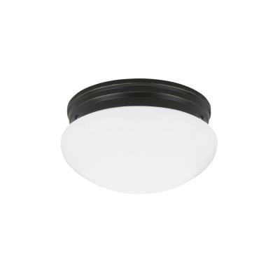 Sea Gull Lighting 5328-782 Two-light Heirloom Bronze Ceiling