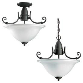 Sea Gull Lighting 59051BLE-71 Canterbury - Three Light Semi-Flush Mount