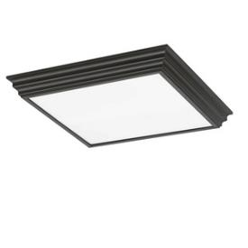 Sea Gull Lighting 59360LE-831 Trim and Chassis - Four Light Flush Mount